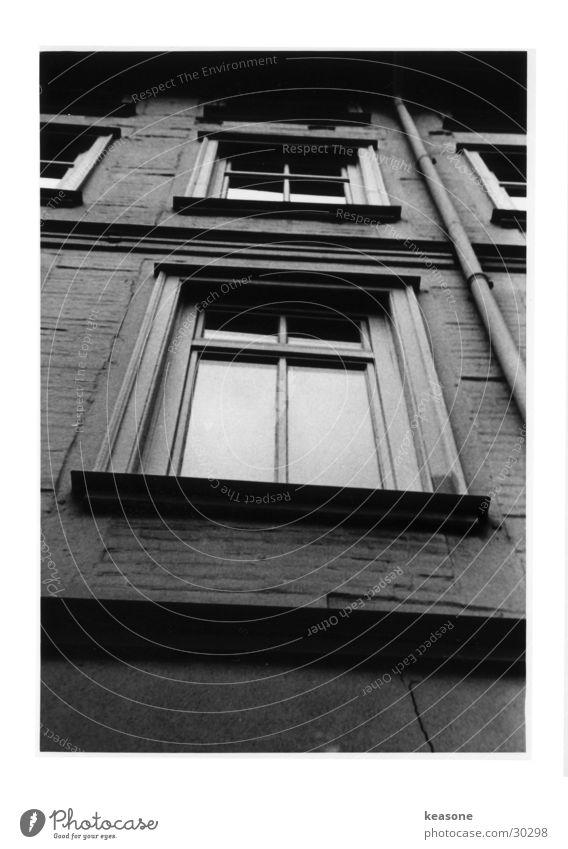 fenster Fenster Stimmung Architektur Schwarzweißfoto Perspektive Kontrast Graffiti Linse http://www.keasone.de