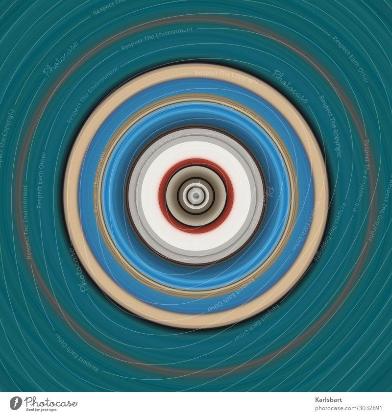 Circle Design harmonisch Yoga Subkultur Veranstaltung Musik Compact Disc Schallplatte Medien Bewegung rund Farbe Idee einzigartig innovativ Kommunizieren
