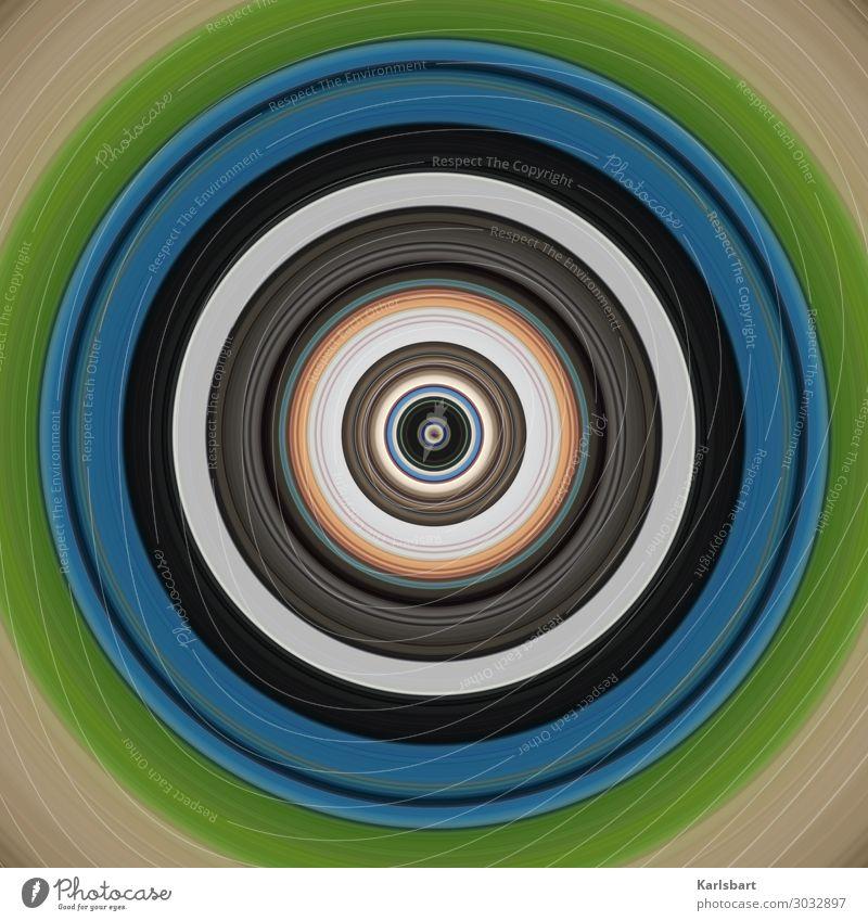 Circle Kreis Zirkel Yoga Design rund harmonisch hypnotisch Detailaufnahme Farbe Herz-/Kreislauf-System Grafik u. Illustration Bewegung