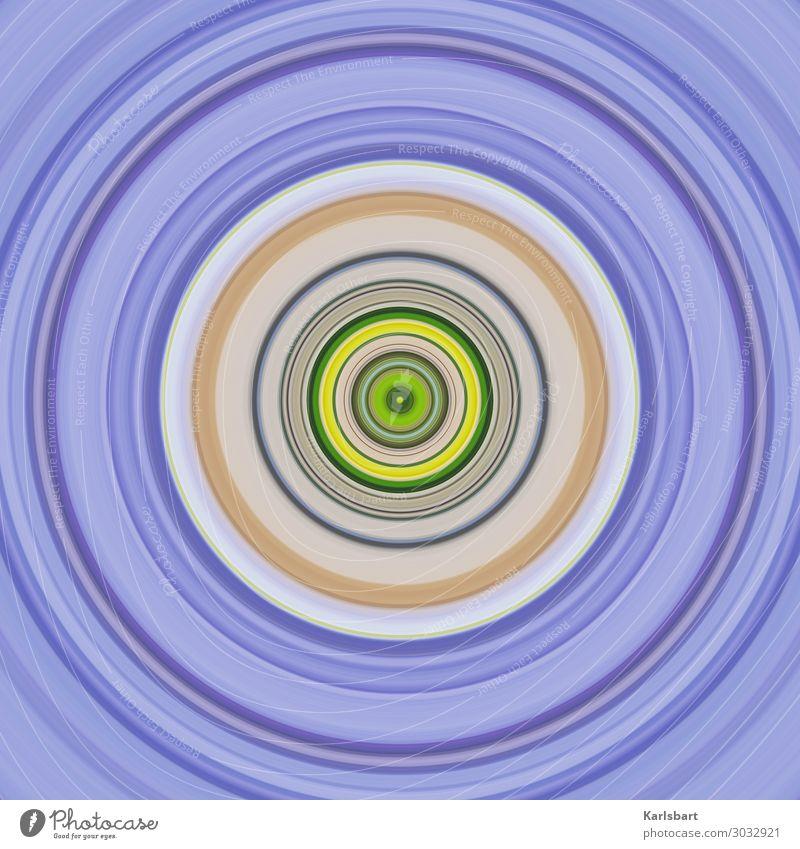 Circle Farbe Bewegung Design Kreis Grafik u. Illustration rund harmonisch Yoga Schallplatte hypnotisch Zirkel Herz-/Kreislauf-System Tonstudio