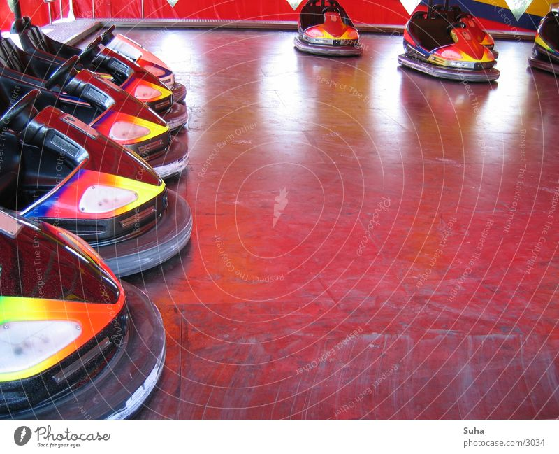 Scooter Standing Still Auto-Skooter Jahrmarkt Schützenfest Freizeit & Hobby Farbe