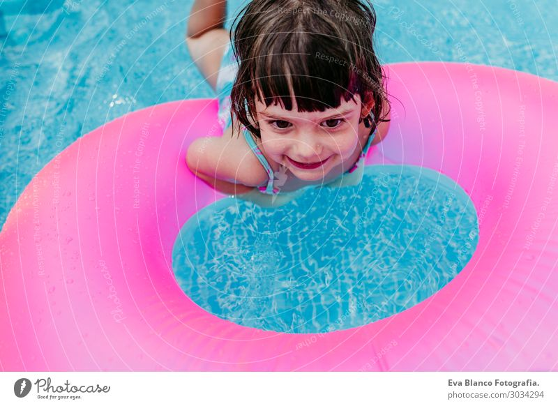 Mensch Ferien & Urlaub & Reisen Sommer blau Farbe schön Wasser Sonne Erholung Freude Mädchen Lifestyle natürlich feminin Sport Gefühle