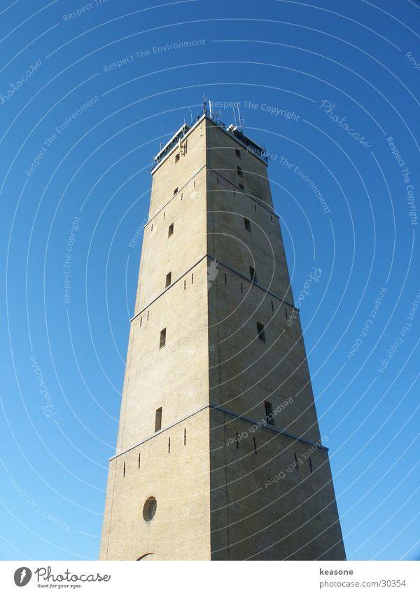 terschelling leuchtturm Himmel Stein hoch Europa Aussicht Turm Leuchtturm