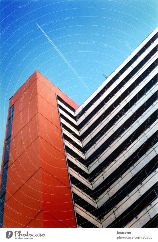 tower Himmel Haus Stil Architektur Flugzeug Hochhaus