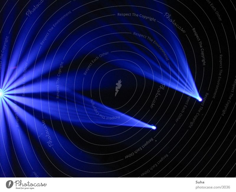 Ray of Light 2 blau Party Beleuchtung Disco Club Tunnel Reaktionen u. Effekte