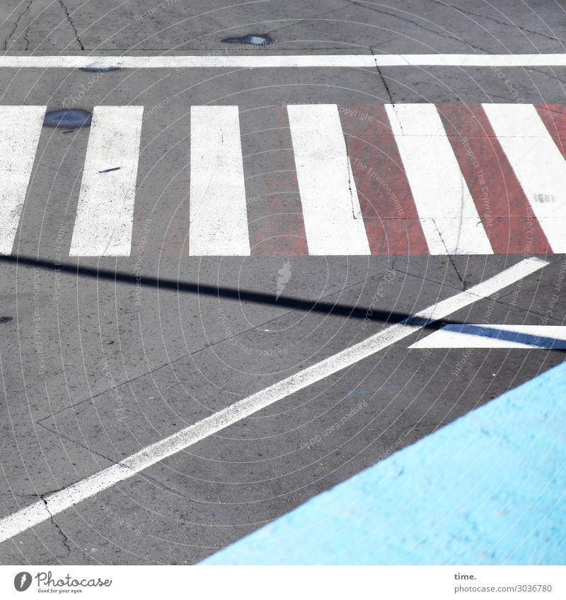 irgendwie Mathe | on the road again Stadt Wasser Straße Wege & Pfade Design Linie Verkehr Kommunizieren Ordnung Schilder & Markierungen Schönes Wetter Zeichen