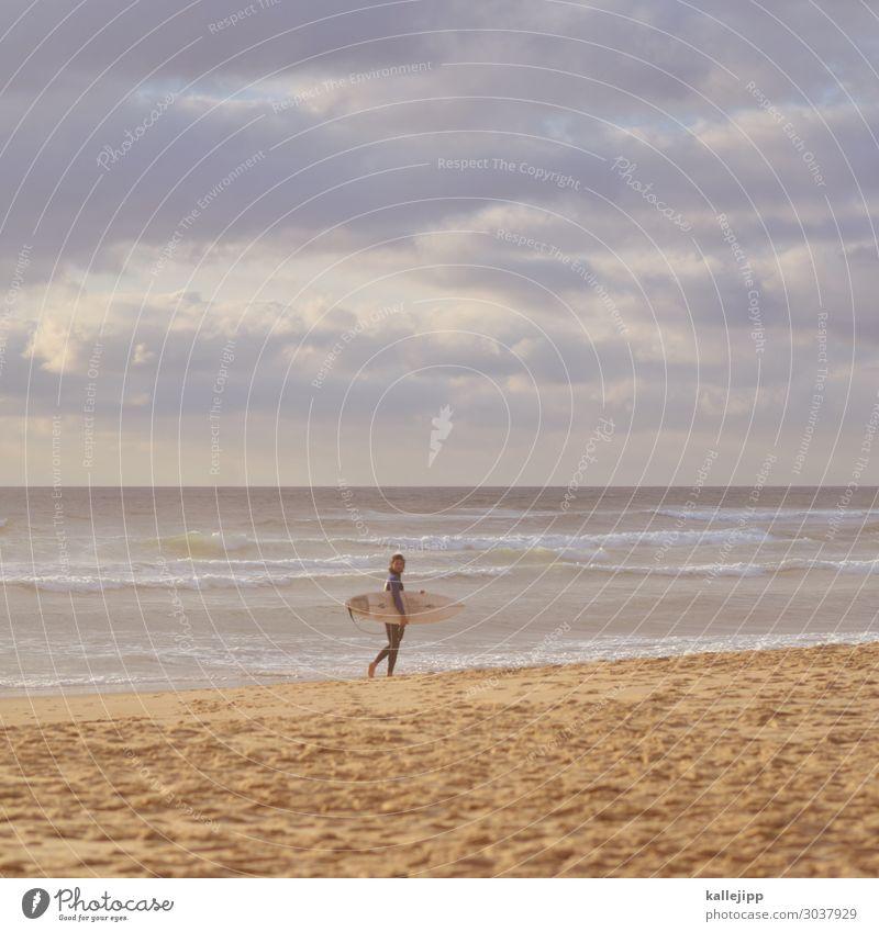 das wärs jetzt Mensch Himmel Ferien & Urlaub & Reisen Natur Sommer Landschaft Sonne Meer Wolken Strand Lifestyle Umwelt Küste Tourismus Freiheit