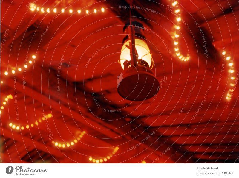 Rote Lampe rot Licht Party Stil Freizeit & Hobby atmosphere