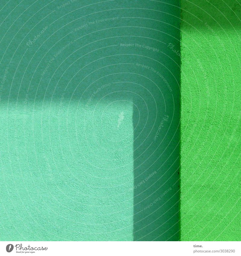 türkis|grün Mauer Wand Putz Farbe Stein Freundlichkeit hell trocken Stadt ästhetisch Design elegant erleben Erwartung Gefühle Zufriedenheit Inspiration