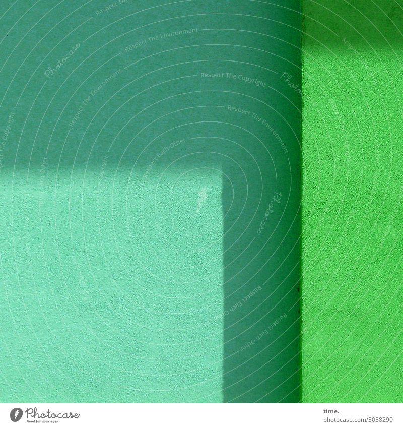 türkis|grün Stadt Farbe Wand Gefühle Mauer Stein Design Zufriedenheit hell elegant Kraft ästhetisch Kreativität Perspektive Freundlichkeit