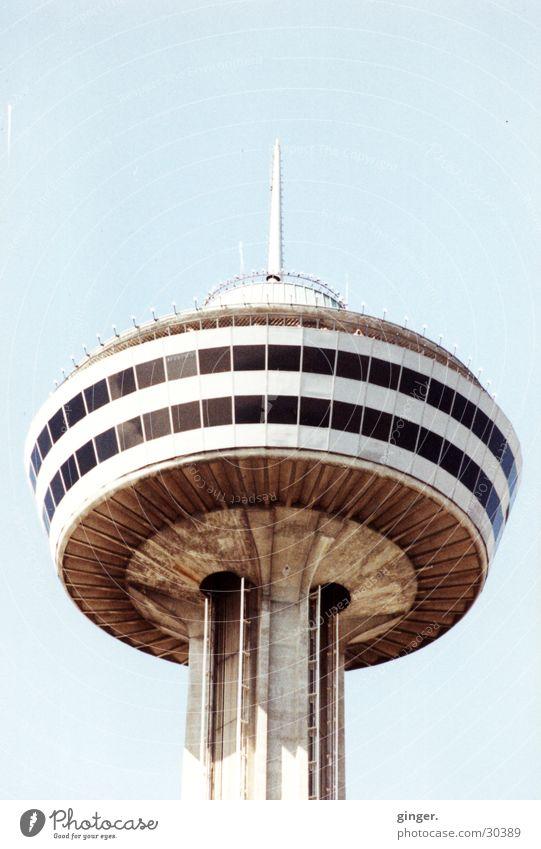 Tower Himmel Ferien & Urlaub & Reisen Architektur hoch Turm Aussicht Ereignisse Kanada Fernsehturm Toronto Aussichtsturm