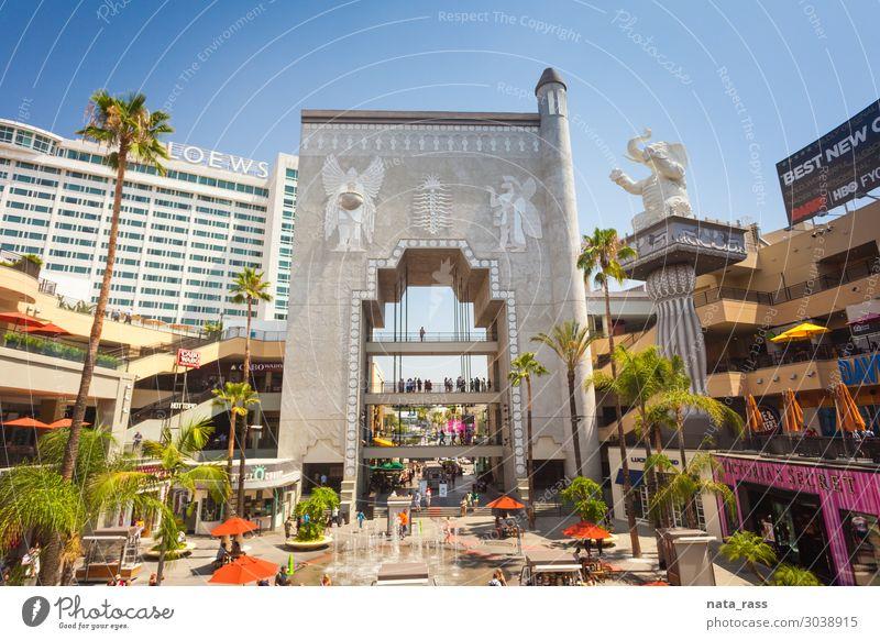 Hollywood und Hochlandkomplex Los Angeles kaufen Werkstatt Entertainment Großstadt Kalifornien Tourismus Zentrum Kaufhof reisen USA Einzelhandel Elefant Theater