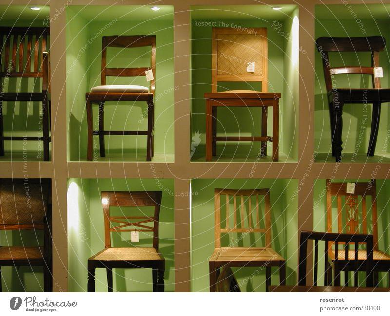 Stühle Stuhl Regal Holzstuhl Setzkasten Häusliches Leben Holzstüle