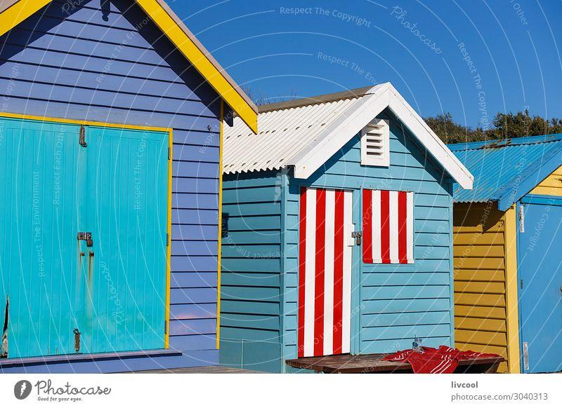 Ferien & Urlaub & Reisen alt blau Stadt Farbe schön weiß Landschaft rot Haus Erholung Architektur Lifestyle Graffiti gelb lustig