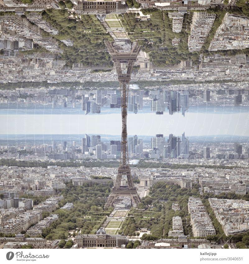 paris|sirap Ferien & Urlaub & Reisen Stadt Tourismus außergewöhnlich Erde Horizont 2 Verkehr Hochhaus verrückt Turm Sehenswürdigkeit Wahrzeichen Futurismus