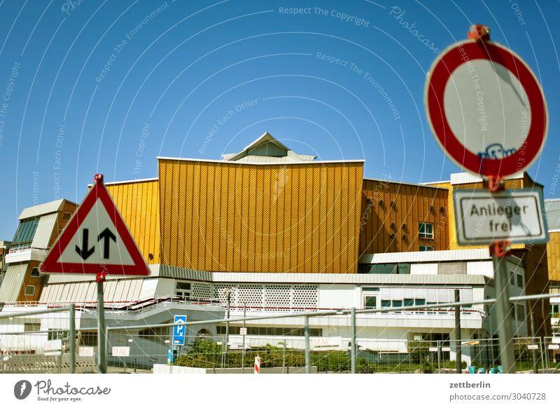 Philharmonie im Umbau Architektur avant garde Bauhaus Berliner Philharmonie Fassade hans scharoun Konzert Konzerthalle Konzerthaus Kultur Kulturforum Berlin
