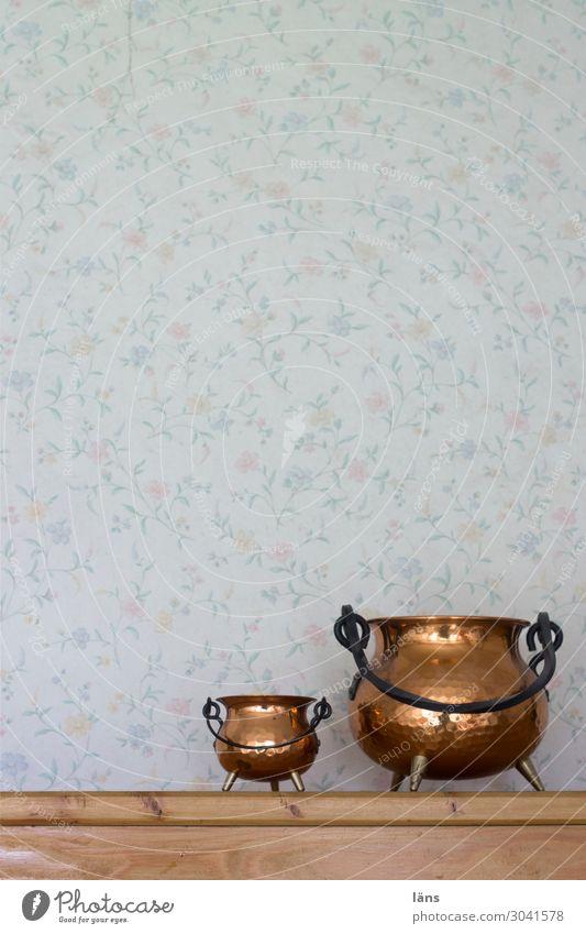 Dekoration Schalen & Schüsseln Häusliches Leben Wohnung Innenarchitektur einfach retro Retro-Trash Wand Tapete Behälter u. Gefäße Dekoration & Verzierung