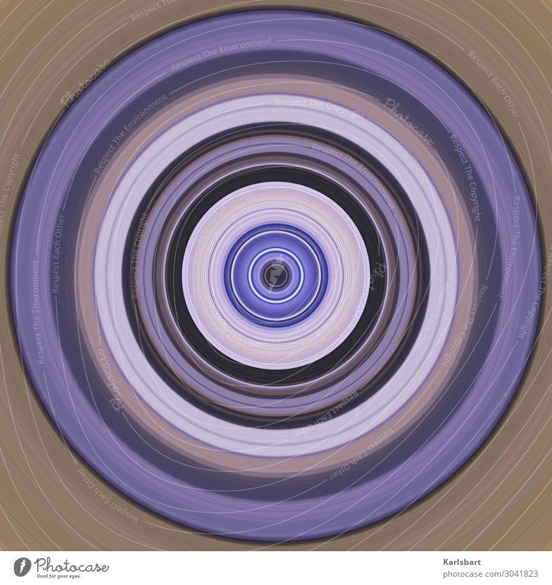 Circle Farbe Design Kreis Grafik u. Illustration rund harmonisch Yoga hypnotisch Zirkel Herz-/Kreislauf-System