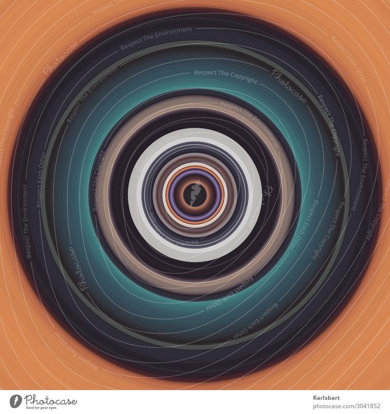 Circle Kreis Zirkel Yoga Design rund harmonisch hypnotisch Detailaufnahme Farbe Interior