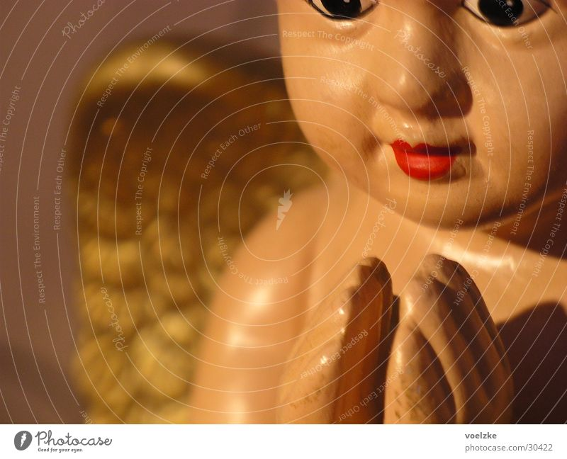 Angel Weihnachten & Advent Religion & Glaube Kunst Engel Flügel Statue Gebet Ikonen