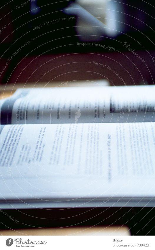 Buch ruhig Persepktive Offenes Buch nachschlagen