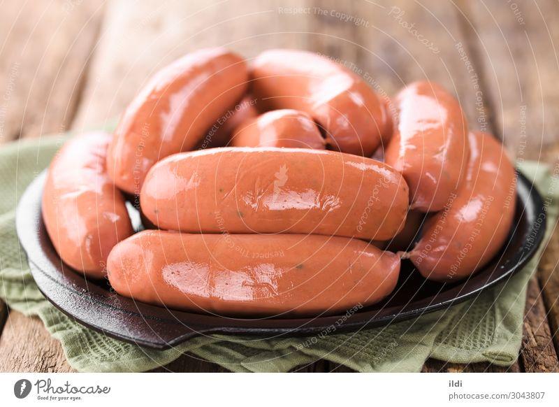 Wurst oder Bratwurst Fleisch Wurstwaren frisch Lebensmittel Chorizo longaniza Boden gehackt Schweinefleisch Rindfleisch bearbeitet konserviert grillen Barbecue