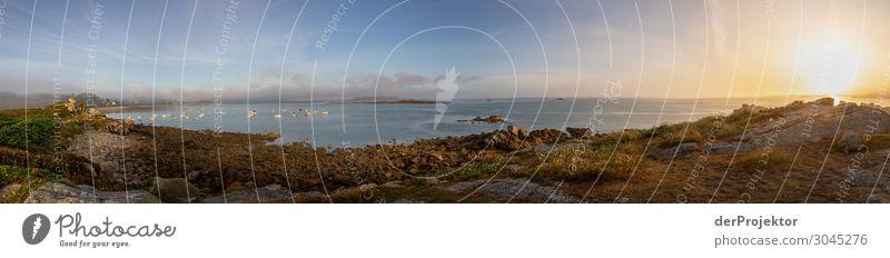 Panoramablick in der Bretagne Ferien & Urlaub & Reisen Tourismus Ausflug Abenteuer Ferne Freiheit Umwelt Natur Landschaft Pflanze Tier Sommer Schönes Wetter