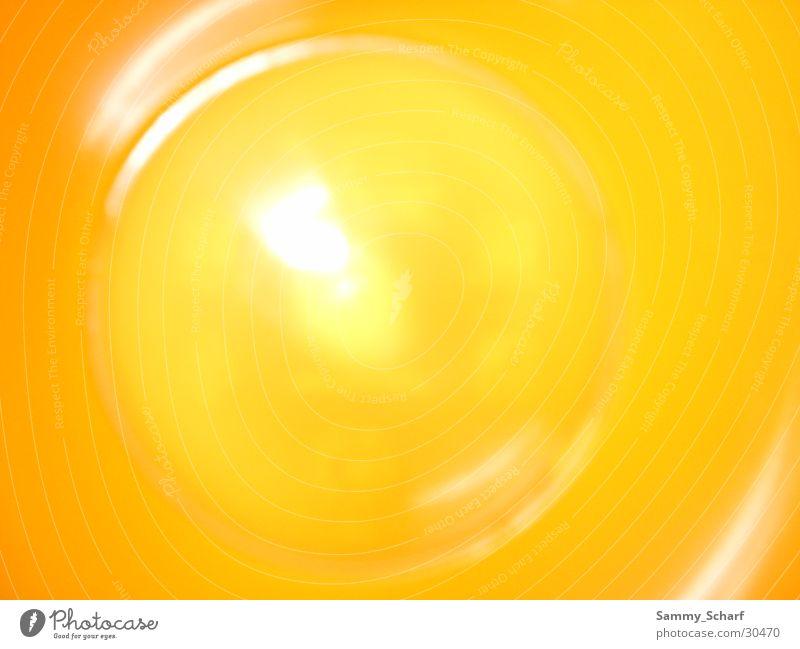IKEA-Becher Makroaufnahme Nahaufnahme Glas orange
