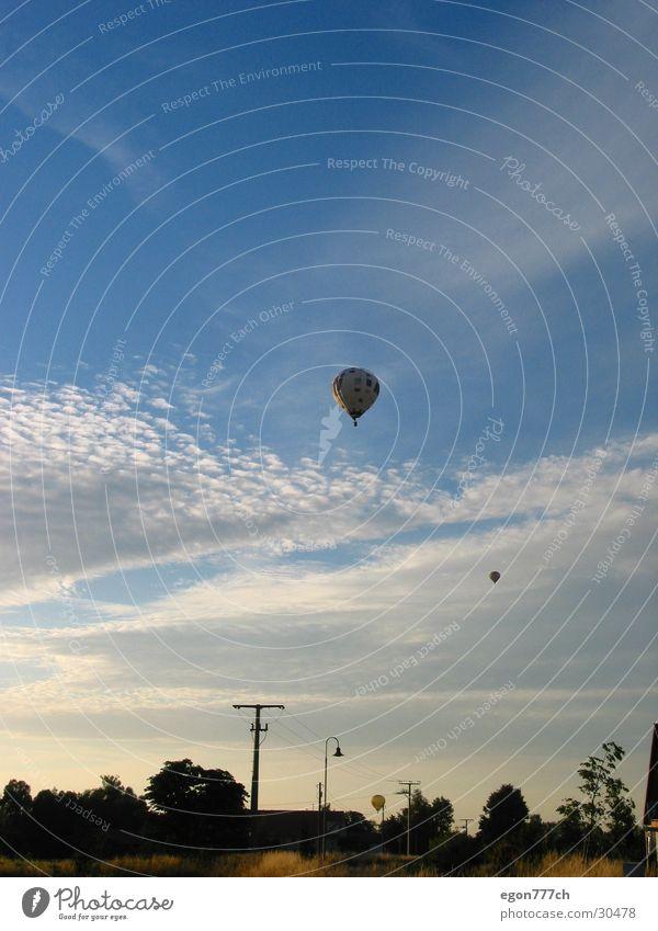 Ballon am Abendhimmel Himmel