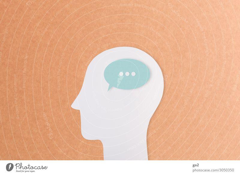 Sprachlos Mensch Einsamkeit ruhig sprechen Traurigkeit Kopf Schriftzeichen Kommunizieren Zeichen Pause Gelassenheit Sitzung Langeweile Sinnesorgane geduldig