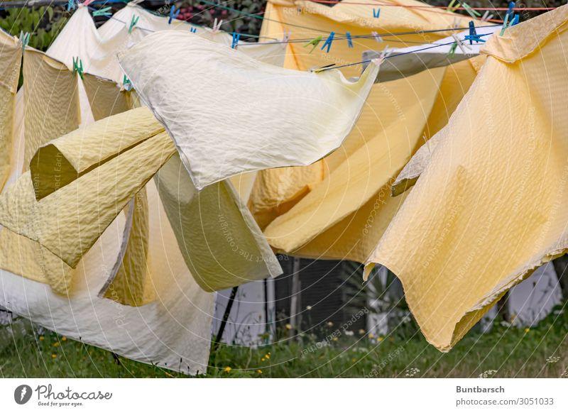 Kinderlabyrinth - Luftiges Sommer grün gelb orange Häusliches Leben Freizeit & Hobby Dekoration & Verzierung Wind nass Bettwäsche Urelemente trocken verstecken