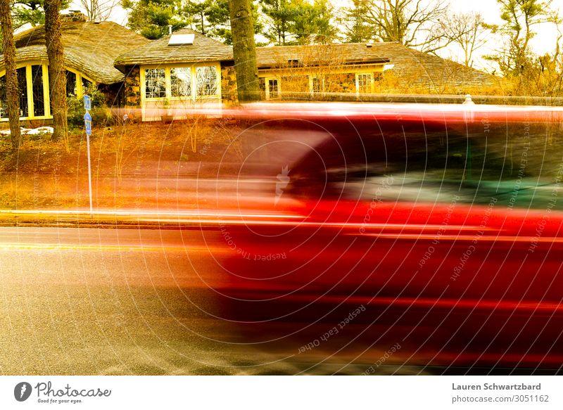 Ins Nichts rasen Stil Verkehr Verkehrsmittel Berufsverkehr Straßenverkehr Fahrzeug PKW rennen gebrauchen fahren Ferien & Urlaub & Reisen authentisch