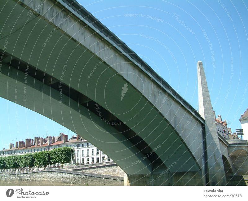 Brücke 2 Frankreich blue Fluss