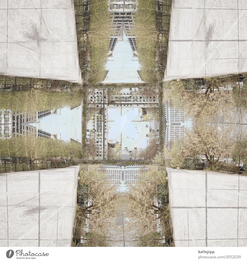 haus-suah Stadt Haus Architektur Gebäude Bauwerk Kaleidoskop