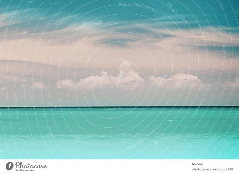 Himmel Natur Sommer blau grün Landschaft Meer Wolken Strand Küste Sand Horizont Wetter Aussicht Insel Jahreszeiten