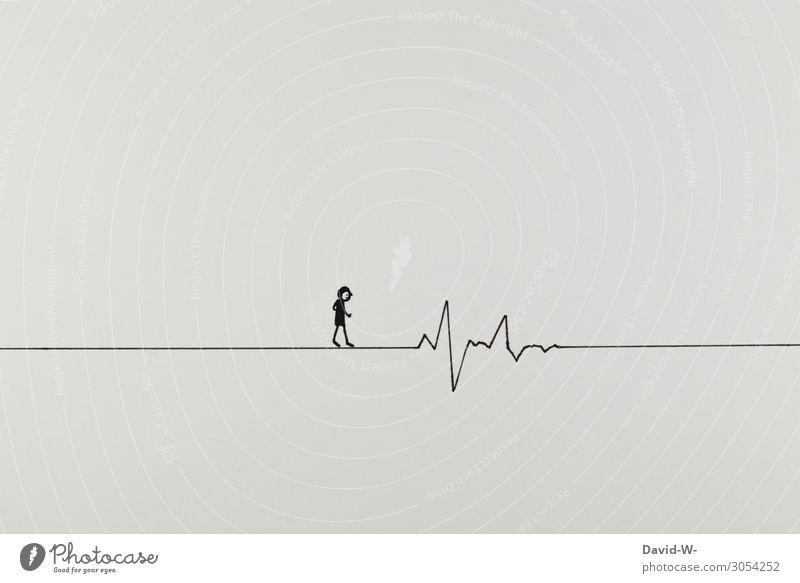 Lebenslauf Mensch Jugendliche Mann Junger Mann Gesundheit Erwachsene Wege & Pfade Gesundheitswesen Stil Kunst Denken Design gehen maskulin Körper