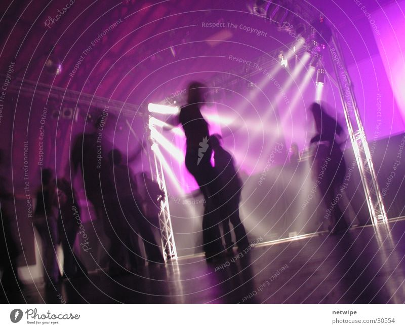 Dancefloor 2 Party Musik Menschengruppe Tanzen Club Veranstaltung Tanzfläche