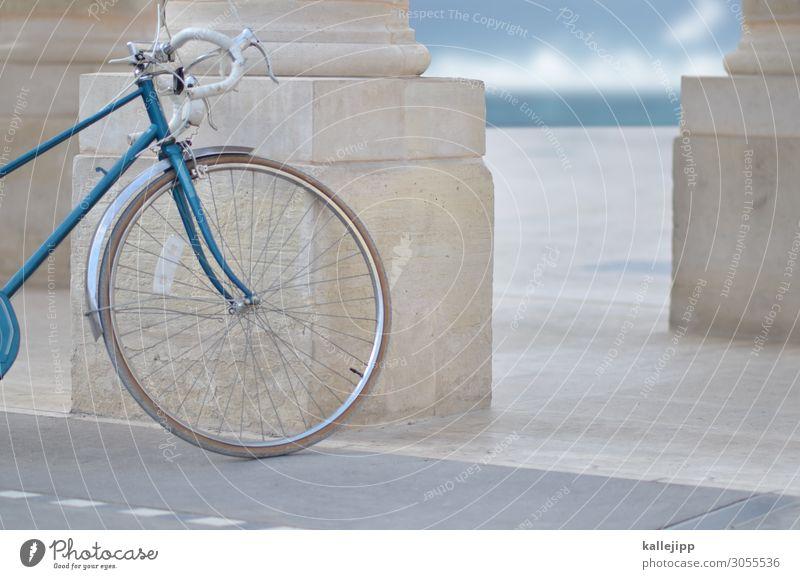 klassisch blau machen Ferien & Urlaub & Reisen alt Stadt Wasser Meer Erholung Wolken Lifestyle Stil Stein Stimmung Ausflug Design Freizeit & Hobby Horizont