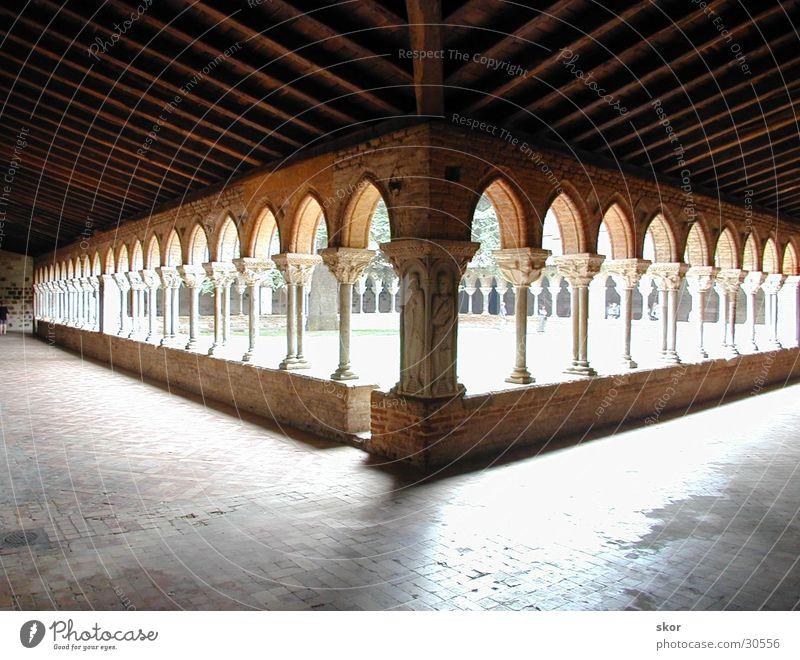 Klostergänge Lichtspiel Gang Gotteshäuser