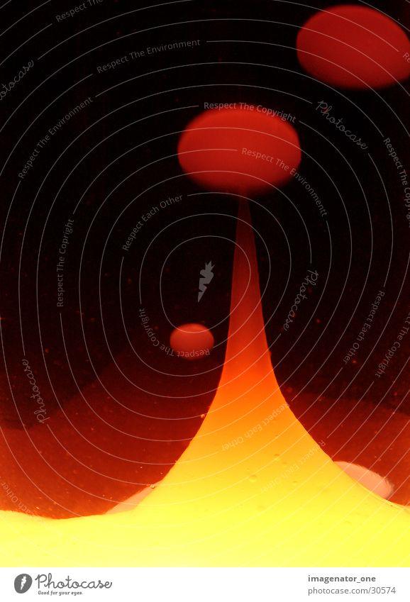 0003 rot Lampe blasen aufsteigen Verlauf Lava Fototechnik