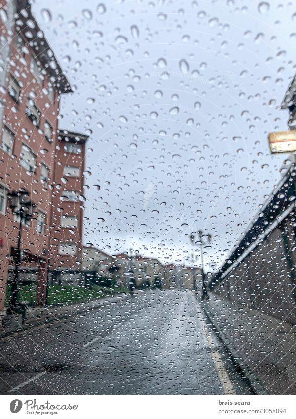 Regentropfen Design Energiewirtschaft Umwelt Natur Wasser Wassertropfen Erde Himmel Wolken Gewitterwolken Herbst Klimawandel Wetter schlechtes Wetter Unwetter