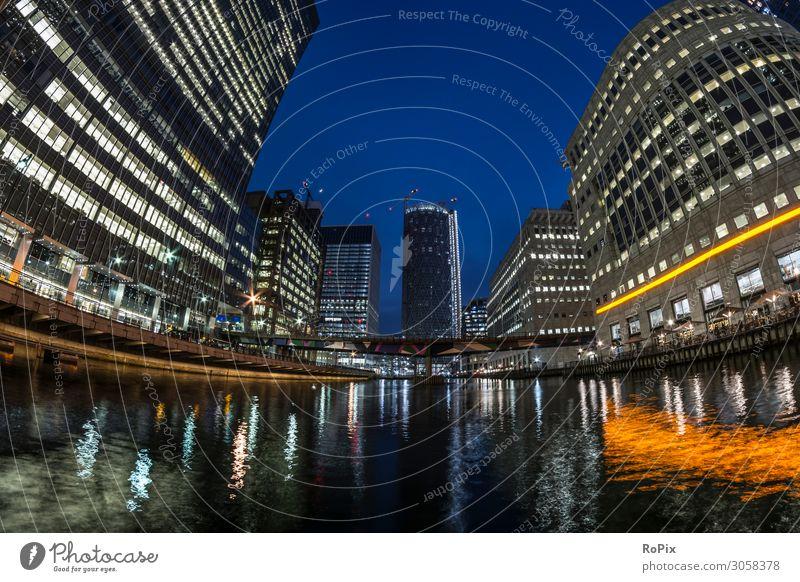 Canary Wharf Lifestyle Reichtum Stil Ferien & Urlaub & Reisen Tourismus Sightseeing Städtereise Arbeit & Erwerbstätigkeit Arbeitsplatz Büro Wirtschaft Handel