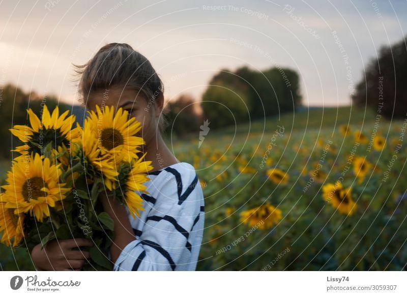 Ich seh` Dich Freude Freizeit & Hobby Sommer Sommerurlaub Schüler Mensch feminin Kind Mädchen Jugendliche Leben 1 8-13 Jahre Kindheit Natur Landschaft
