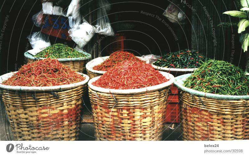 Pfefferoni rot Gesundheit gefährlich Scharfer Geschmack Markt