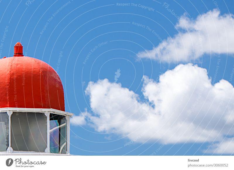 Leuchtturm in der Stadt, Brisbane Himmel Wolken Hafenstadt Architektur Dach Denkmal alt bauen authentisch Coolness historisch einzigartig retro Großstadt