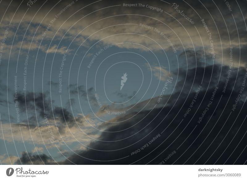 Woken Himmel Studium Energiewirtschaft Meteorologie Umwelt nur Himmel Wolken Sonnenaufgang Sonnenuntergang Sonnenlicht Klimawandel Wetter schlechtes Wetter