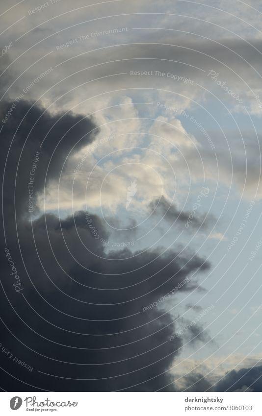 Wolken Himmel Wissenschaften Fortschritt Zukunft Energiewirtschaft Erneuerbare Energie Luftverkehr Raumfahrt Wasser nur Himmel Gewitterwolken Klimawandel Wetter