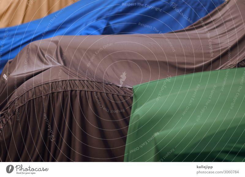 christo blau grün Freizeit & Hobby PKW Verkehr Geld Schutz Stoff Sammlung Leidenschaft Reichtum Werkstatt Fahrzeug Personenverkehr reich Hülle