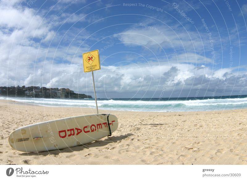 bondibeach Strand Surfen Australien Strandposten