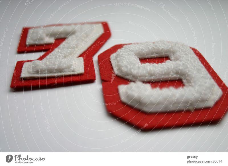 79 Ziffern & Zahlen Dinge 7 9 Jahrgang